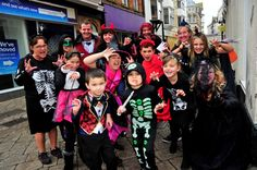 Freaky Friday in Weymouth town centre on October Scary family. October Half Term, Street 2015, Whats New, Graham, Schools, 30th, Scary, Centre, Friday