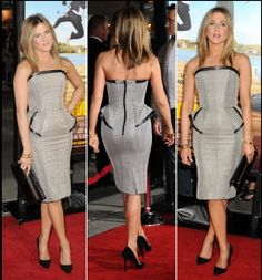 Jennifer Aniston in Tom Ford dress