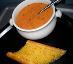 Creamy Tomato Basil Bisque...possibly close to Hangers bisque?? @Lauren Zutt