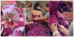 Up close ❝Getting Ready❞ Quincenera Photo Ideas \\ Photo Credit: Del Mar Photography Blog