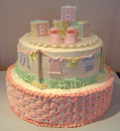 baby shower clothesline-love this! baby shower clothesline-love this! Torta Baby Shower, Girl Shower Cake, Baby Shower Sheet Cakes, Baby Showers, Baby Shower Parties, Cupcakes, Cupcake Cakes, Beautiful Cakes, Amazing Cakes