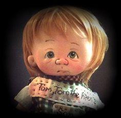 Tom Tom The Pipers Son ooak by doll artist Jan Shackelford