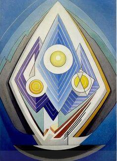 Lawren Harris. Painting No.4. 1939 Ommattu Tarulle, tulit jotenkin tästä mieleen!