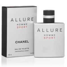 Shop Chanel - Allure Homme Sport Eau De Toilette at Peter's of Kensington. View our range of Chanel online. Why in the world would you shop anywhere else for Chanel? Perfume Chanel, Perfume Allure, Chanel N 5, Perfume Sale, Perfume Bottles, Chanel Sport, Chanel Allure Homme Sport, Cheap Perfume Online, Online Perfume Shop