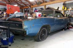 Cutting It Loose: 1968 Dodge Charger - http://barnfinds.com/cutting-it-loose-1968-dodge-charger/