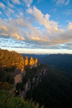 Blue Mountains NSW, Australia.  This is the view Kate and William will be enjoying today.