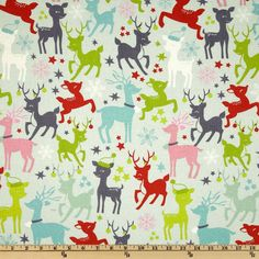 "Cute ""Tinsel reindeer Games"" ~ Aqua"