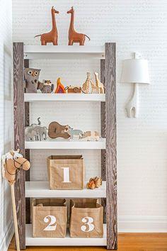 | Cute safari nursery