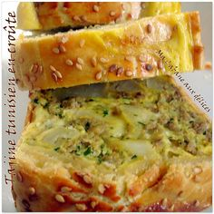 Tajine tunisien en croute Algerian Recipes, Lebanese Recipes, Turkish Recipes, Tunisian Food, Middle East Food, Graduation Food, Tagine Recipes, Ramadan Recipes, Arabic Food