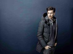 BUGATTI FALL/WINTER 2014/15 | Functional outdoor jacket with reflector details. #bugattifashion #fw14 #menswear #fashiondaily #winterjacket