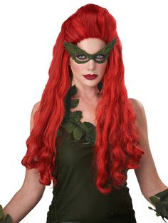 complete your venomous vixen costume with this lethal beauty wig for women