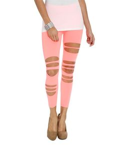 pookiebadookie's save of Rip Tear Seamless Legging | Shop Bottoms at Wet Seal on Wanelo