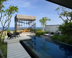 swimming pool, Alila Villas, Uluwatu, Bali
