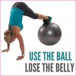 Use The Ball, Lose The Belly | Core Workout
