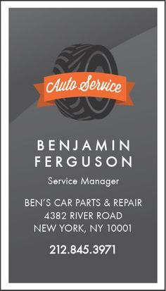 Black auto detailing, auto repair business card | Cars, Paper and ...