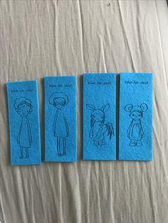 Lasercut bookmarks