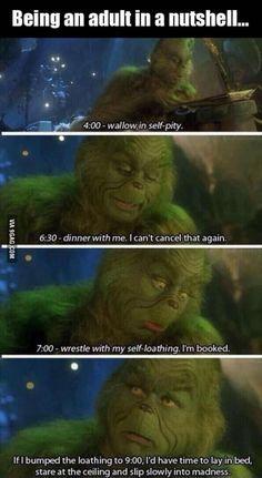 Adulthood be like...