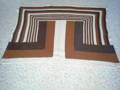 polovina plánované deky k polštářům