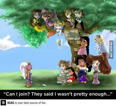 The non-princess club
