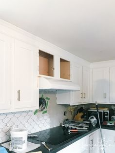 Wood Hood Vent, Kitchen Vent Hood, Kitchen Fan, Diy Kitchen, Kitchen Design, Kitchen Storage, Kitchen Ideas, Range Hood Cover, Kitchen Upgrades