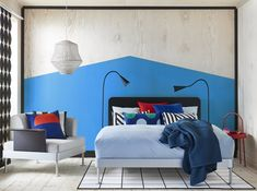 IKEA and Tom Dixon just unveiled a modular bed you can customize, personalize and transform through a selection of headboards and accessories. Tom Dixon, Cama Ikea, Ikea Design, Wall Design, Black Headboard, Bed Frame And Headboard, Rattan Headboard, Bed Frames, White Bedroom Furniture