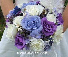 Ahhhhh, there it is in the center! Periwinkle Rose! Google Image Result for http://www.budget-bride.com/0099112.JPG