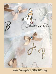 COUNTRY CHIC Sacchetti portaconfetti in organza COUNTRY CHIC Organza Bags