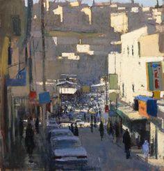 Andrew Gifford, escenas urbanas.