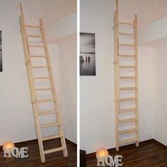Kid Spaces, Small Spaces, Alpine House, Backyard Office, Attic Loft, Sleeping Loft, Attic Stairs, Attic Conversion, Small Space Living