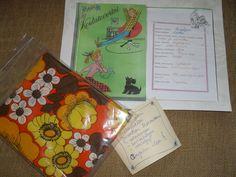 Syntymäpäiväkortti takaa, ihana laittaa  vanhasta ystäväpäiväkirjasta kopiot 60 v. päivänsankarille, unelmia, inhokkia, toiveita ym..