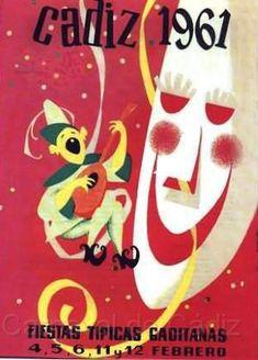 Cartel Carnaval de Cadiz año 1961