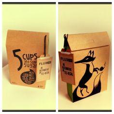 """""""5 Cups and Some Sugar"""" Online-Teeladen zum selber mischen. Auch individualisierte Verpackungen gibt es. #Tee #tea"""
