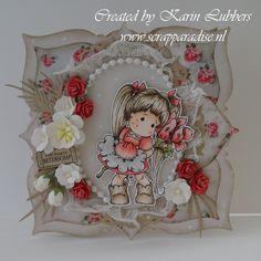Scrapblog Karin: Zin in de beurs!!  Unbelievably awesome card!!