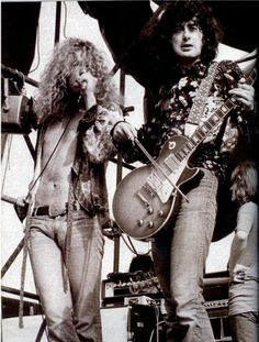 Robert Plant & Jimmy Page   Led Zeppelin. Seriously no one could play it like Page