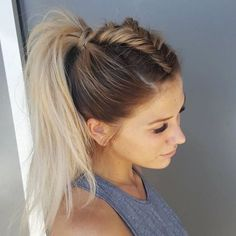 A Fancy High Ponytail