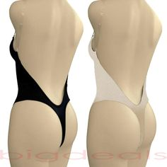Backless Full Body Shaper Thong Convertible Seamless Low Back Max Cleavage 9001 in Clothing, Shoes & Accessories | eBay