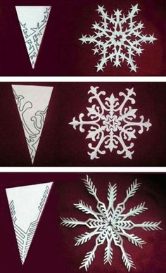 snowflakes snowflake pattern and snowflake template on pinterest. Black Bedroom Furniture Sets. Home Design Ideas