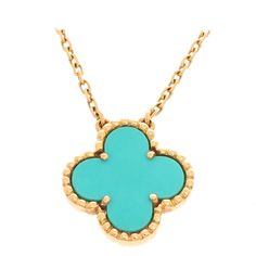 Van Cleef & Arpels Alhambra Yellow Gold Necklace | 1stdibs.com #1DHoliday