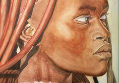 Himba women Artist  Sedat Temuçin