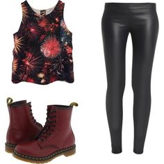 Be you... by brendadg on Polyvore featuring polyvore fashion style Lovers + Friends The Row Dr. Martens