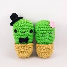 Resultado de imagen para cactus amigurumi