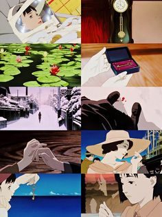 my story might have had a very different ending// Millennium Actress Satoshi Kon, Another Part Of Me, Cinema Movies, Animation, Ghost In The Shell, I Love Anime, Studio Ghibli, Storyboard, Akira