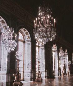 Hall of Mirrors at Versailles. Nature Architecture, Baroque Architecture, Beautiful Architecture, Architecture Design, Windows Architecture, Classical Architecture, Sustainable Architecture, Versailles, Villa Interior