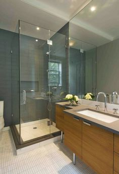 Hubby is into corner shower. I can only buy the idea if it's at least 1.5x1.5m big
