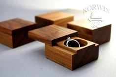 Wooden engagement slim ring box from oak Wedding ring box Rustic ring box Personalized – Boxen und Schachteln – Wood Craft Wood Box Design, Proposal Ring Box, Wooden Ring Box, Woodworking Box, Wedding Ring Box, Personalised Box, Wooden Gifts, Wood Rings, Wood Boxes