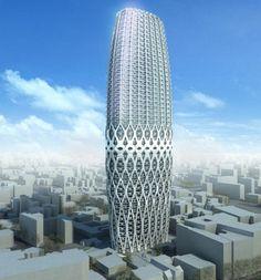 Torre Dorobanti. Zaha Hadid