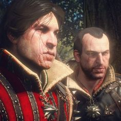 Witchers Lambert and Eskel