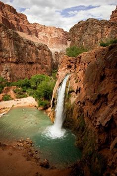 Wellness Travel includes fitness adventures to parts of the world blessed by nature! For instance, hiking the Havasupai Canyon in Arizona.