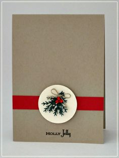 Luv To Stamp: My 10 Minute Christmas Card!