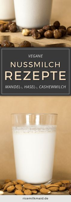Nussmilch selbst her